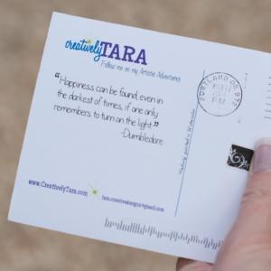 Postcard one Tara2