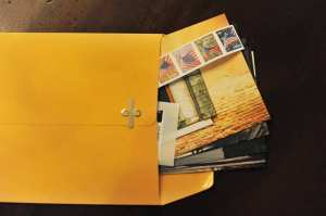 Postcards-packed