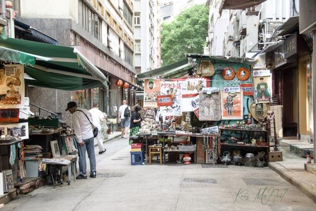 Cat Street Market Hong Kong km