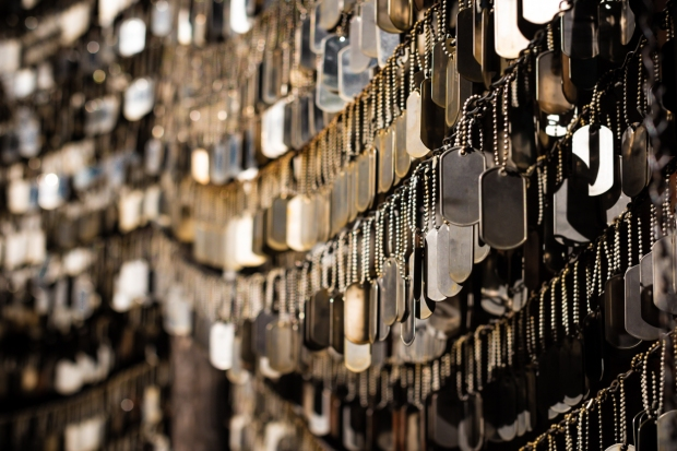 152.365.2018 Dog Tag Memorial, Old North Church, Boston